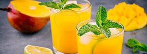 China Mist Mango Lime Mocktail