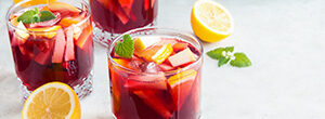 China Mist Orange Sangria Mocktail