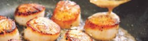 Pan-Seared Scallops with Earl Grey Beurre Blanc
