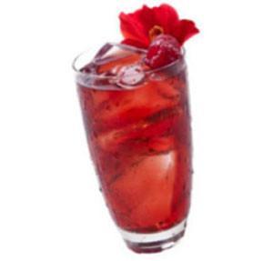 Hibiscus Raspberry Herbal Iced Tea - Loose Leaf